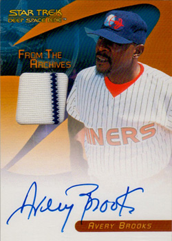 Avery Brooks Autograph/Costume Card