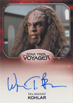 Autograph - Wren T. Brown as Kohlar