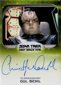 Autograph - Christopher Carroll as Gul Benil