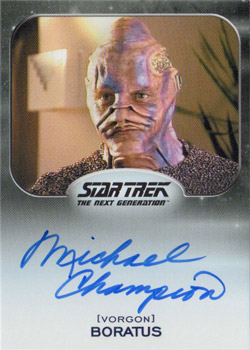 Autograph - Michael Champion as Boratus