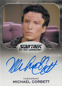 Autograph - Michael Corbett as Doctor Rabal