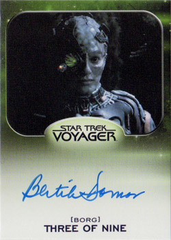 Autograph - Bertila Damas as Three of Nine