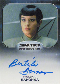 Autograph - Bertilla Damas as Sakonna