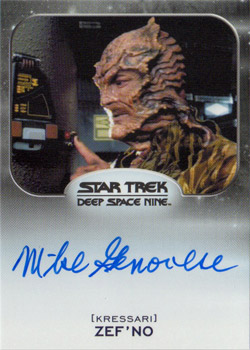 Autograph - Mike Genovese as Zef'No