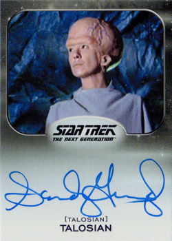 Autograph - Sandy Gimpel as Talosian