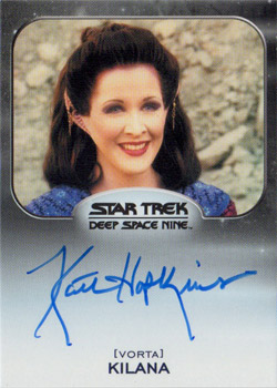 Autograph - Kaitlin Hopkins as Kilana