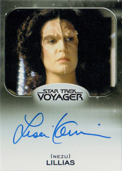 Autograph - Lisa Kaminir as Lillias