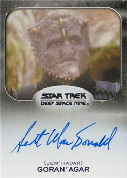 Autograph - Scott MacDonald as Goran'Agar