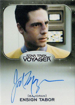 Autograph - Jad Mager as Ensign Tabor