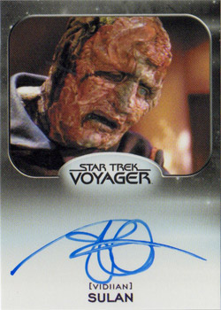 Autograph - Brian Markinson as Sulan