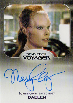 Autograph - Mary Elizabeth McGlynn as Daelen