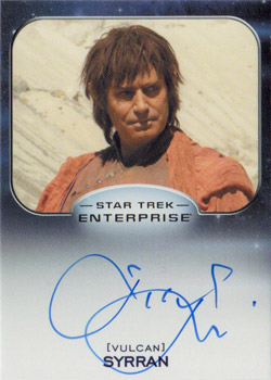 Autograph - Michael Nouri as Syrran