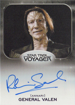 Autograph - Robin Sachs as General Valen
