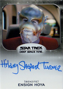 Autograph - Hilary Shepard Turner as Hoya