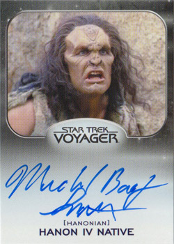 Autograph - Michael Bailey Smith as Hanon IV Native