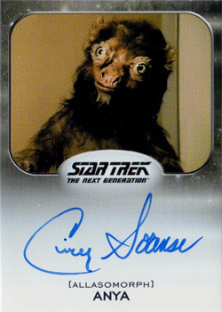 Autograph - Cindy Sorenson as Anya as Furry Animal