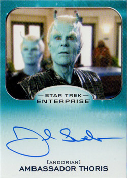 Autograph - Joel Swetow as Ambassador Thoris