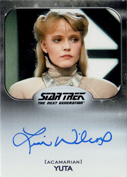 Autograph - Lisa Wilcox as Yuta