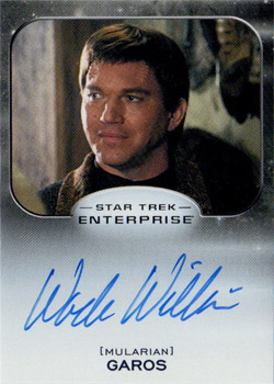 Autograph - Wade Williams as Garos