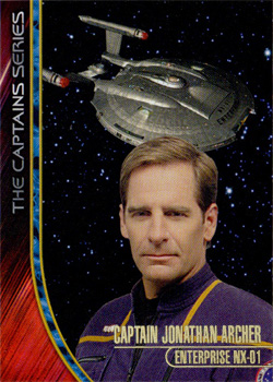 Captains Series Card - Jonathan Archer