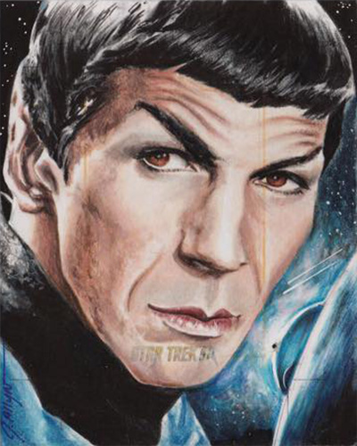 Jennifer Allyn AR Sketch - Spock