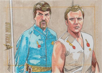 Roy Cover Sketch - Spock and Kirk