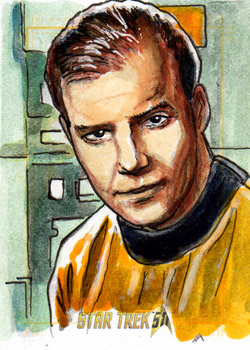 Daniel Gorman AR Sketch - James T. Kirk