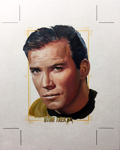 Kevin Graham AR Sketch - James T. Kirk