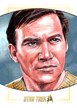 Michael James AR Sketch - James T. Kirk