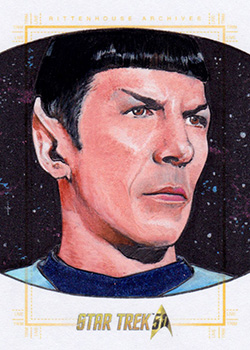 Michael James AR Sketch - Spock