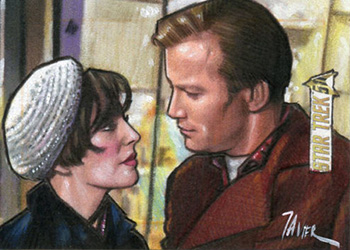 Javier Gonzales AR Sketch - Edith Keeler and James T. Kirk