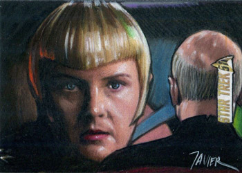 Javier Gonzales Sketch - Sela and Picard