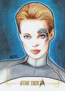Frank Kadar AR Sketch - Seven of Nine