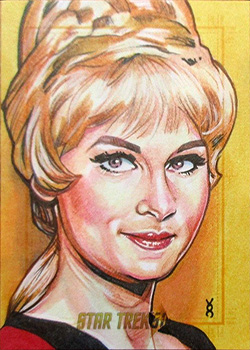 Veronica O'Connell Sketch - Janice Rand