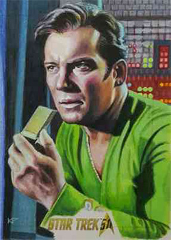 Kris Penix AR Sketch - James T. Kirk
