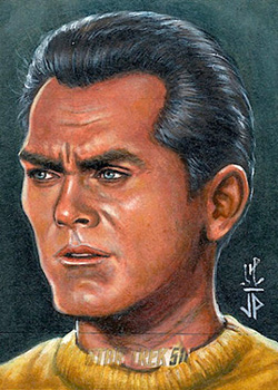 Jason Potratz AR Sketch - Captain Pike