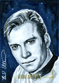 Brad Utterstrom AR Sketch - James T. Kirk