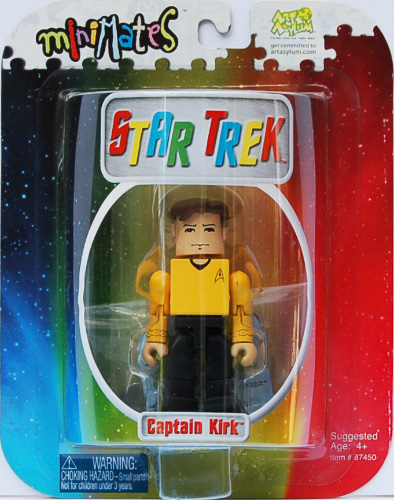 "MM 3"" Kirk on Card"