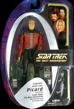 Picard in Captain's Jacket