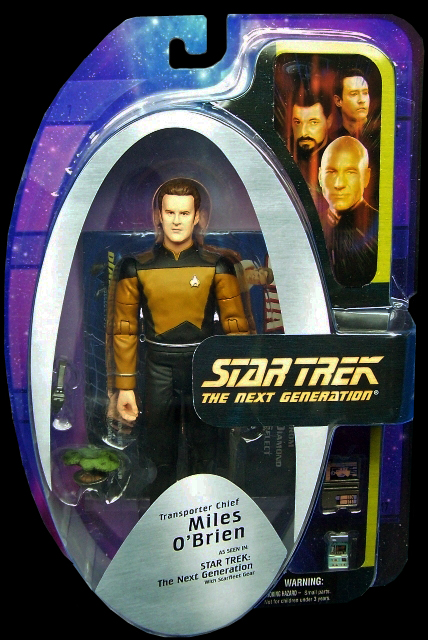 Transporter Chief Miles O'Brien