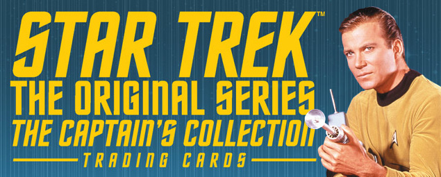 Star Trek TOS Captain's  Collection