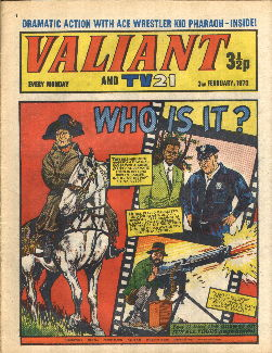 Valiant and TV21 #71