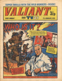 Valiant and TV21 #73
