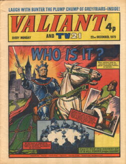 Valiant and TV21 #117