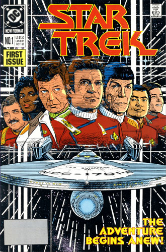 DC Star Trek Monthly 2 #1