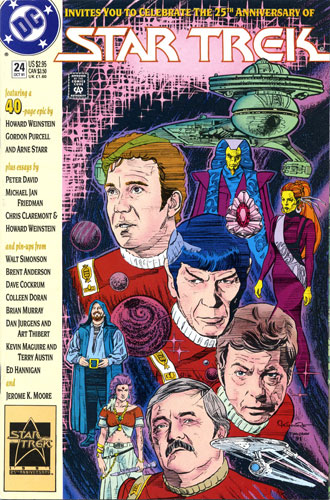 DC Star Trek Monthly 2 #24