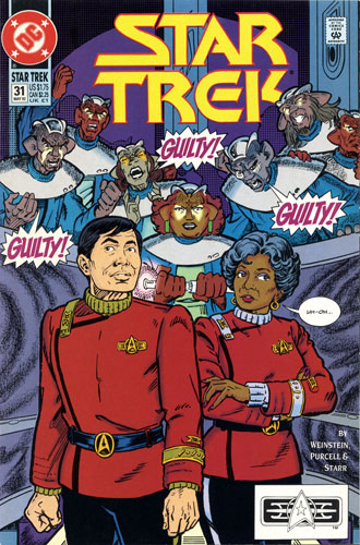 DC Star Trek Monthly 2 #31