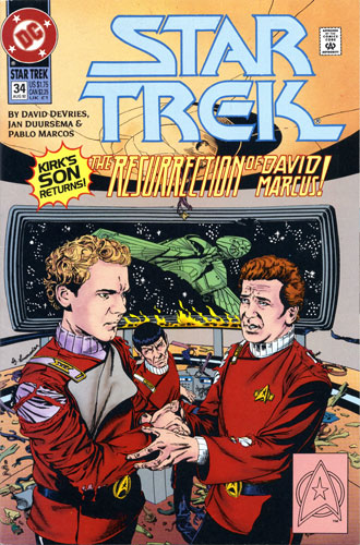 DC Star Trek Monthly 2 #34