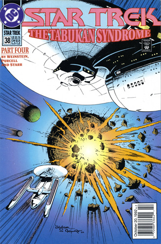 DC Star Trek Monthly 2 #38