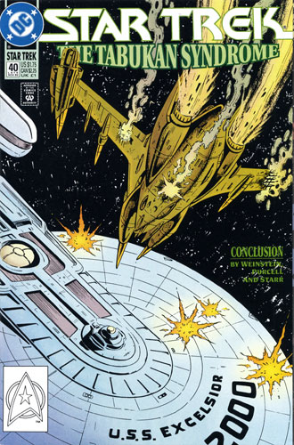 DC Star Trek Monthly 2 #40